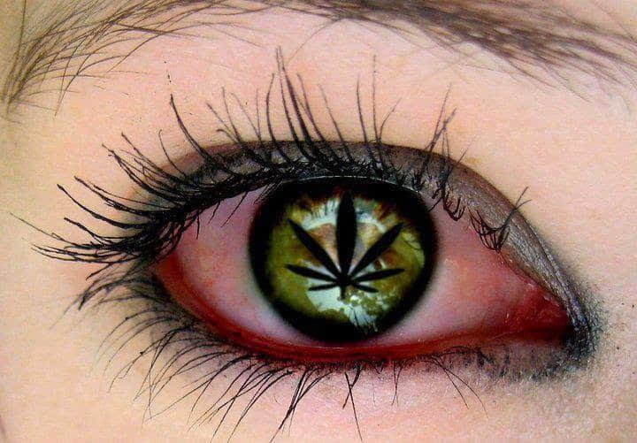 驚き!!マリファナを吸った後の赤い目が意味するのは・・・?