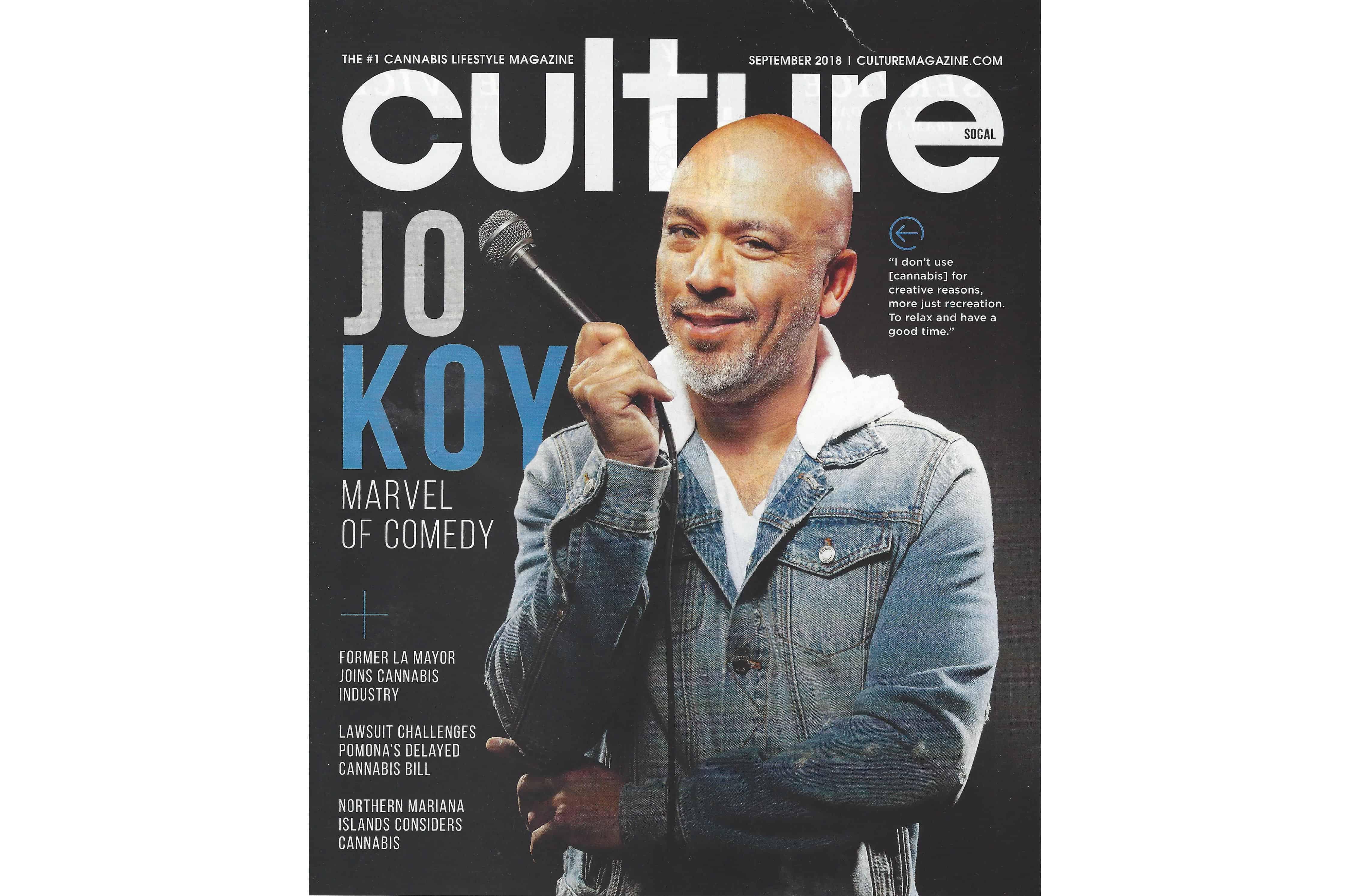 【最新・大麻雑誌】 -CULTURE-  カルチャー 2018年9月号