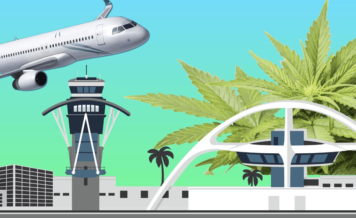 ロサンゼルス国際空港(LAX)に大麻持ち込みOK!新マリファナシステム
